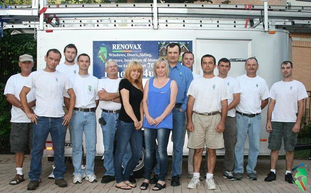 Renovax Siding Contractors Team